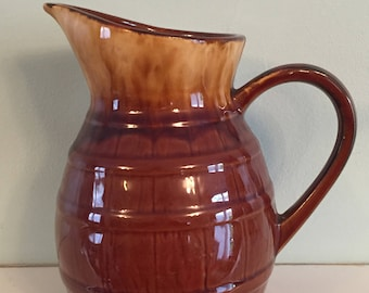 A Lovely Vintage French Wine/Water Pitcher/Jug, Made in France
