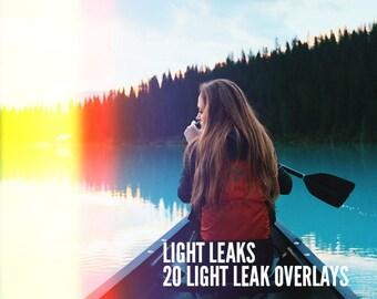 Light Leaks - Light Leaks Overlays - Vintage Light Effects - Photo Overlay - Photo Light Leak - Lomography Overlay - Light Leak Overlay