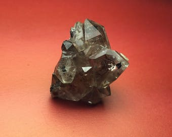 Unique Herkimer Diamond Natural Crystal Cluster