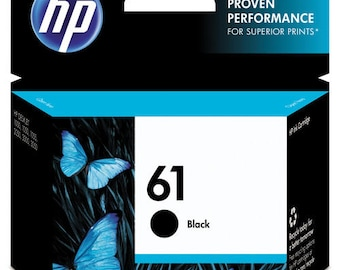 HP 61 Black Ink Cartridge - CH561WN#140