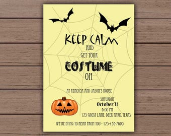 Halloween Invitation, Printable Halloween, Scary Party Invites, Keep Calm, Halloween Invites, Pumpkin Invitations, Printable Halloween