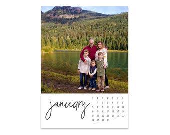 The 2018 Sarah Photo Calendar // 5x7