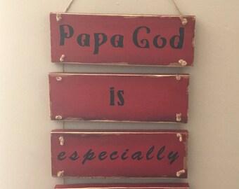 Papa God Sign