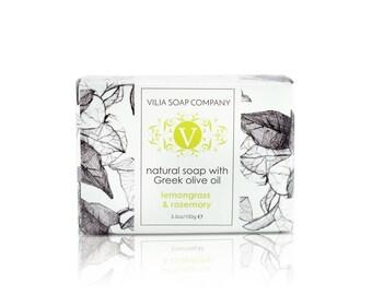 Lemongrass & Rosemary Bar Soap