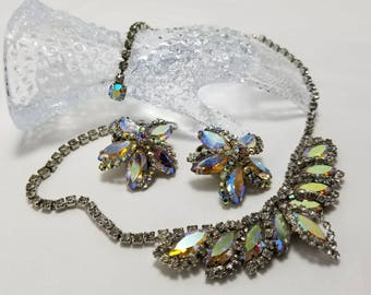WEISS Aurora Borieles Necklace And Earrings Set