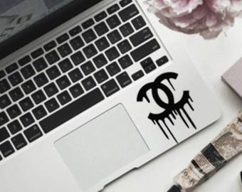 Chanel drip Logo - Laptop Decal - Car Decal - Sticker
