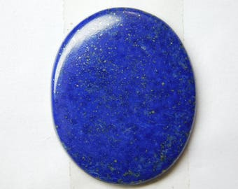 100% Natural Blue Lapis lazuli oval shape cabochone top quality gemstone 39.65cts 34x27x3mm