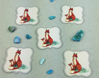 "Small sticker Kit ""Fox"""