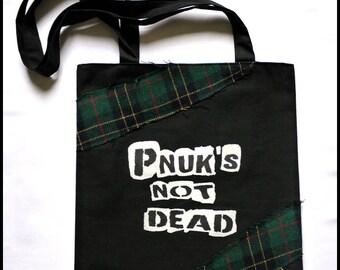 "tote bag/bag ""Uknp's not dead"""