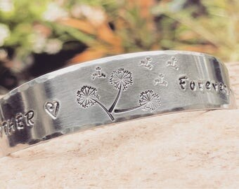 Mom gift from daughter, Mom bracelet, Mom jewelry, First my mother, Forever my friend, Hand stamped bangle, Free Shipping, Gifts under 25