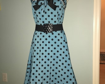 1950's vintage pin-up dress