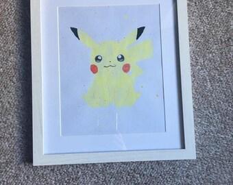 Pokemon Pikachu Wall Art