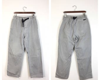 90's gramicci cotton pants made in usa size w30-32