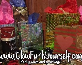 Party pack, gift assortment grab bag! Kinky fun, perfect for white elephant, office parties, first dates and mothers day! mature adults only