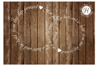 To have and to hold from this day forward. For better or worse  Circle of love wedding SVG DFX Cut file Cricut  file commercial license