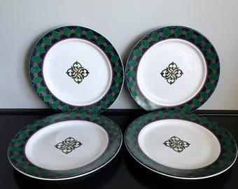 Set of 4 Pfaltzgraff Amalfi Classic Salad Plates