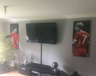 Steven Gerrard and Kenny Dalglish Canvas Package