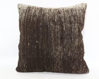 Faded Kilim Pillow Vintage Kilim Pillow 20x20 Bohemian Kilim Pillow Sofa Pillow Ethnic Pillow Decorative Kilim Pillow SP5050-1845