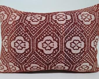 Bohemian Kilim Pillow Throw Pillow Sofa Pillow Ethnic Pillow 16x24 Lumbar Kilim Pillow Home Decor Ethnic Pillow Cushion Cover SP4060-1196