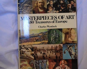 Masterpieces of Art - Large Coffee Table Book
