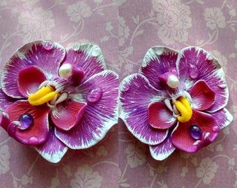 Purple Phalaenopsis Comission Order