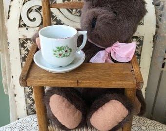 "Sweet Little ""Mattie""- A Cute Little Boyds Collection Teddy Bear"