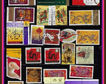 Lunar New Year Stamps - Canada Year of the .....