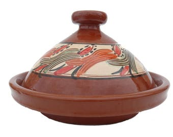 Moroccan Tajine for cooking Ø 30 cm for 2-4 persons-Oriental cooking