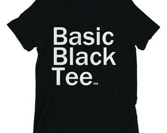Basic Black Tee - Give back to kids in need