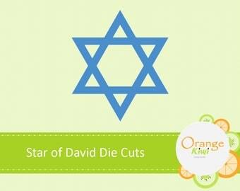 Star of David Confetti, Jewish Wedding, Die Cuts, Bar Mitzvah, Bat Mitzvah, Hebrew