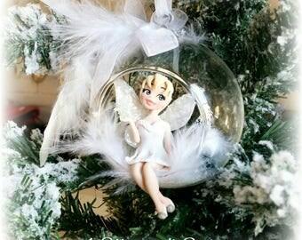 Decoro albero di Natale - sfera in vetro Trilly Campanellino
