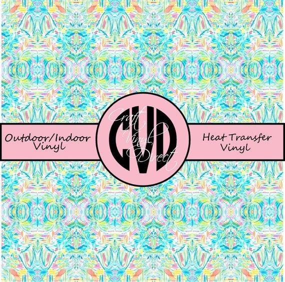 Beautiful Patterned Vinyl // Patterned / Printed Vinyl // Outdoor and Heat Transfer Vinyl // Pattern 752