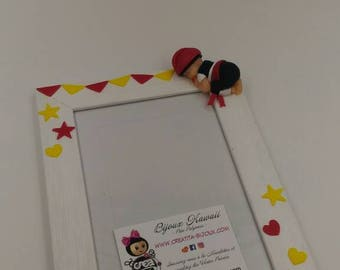 Catalan little personalized baby frame