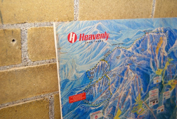 Heavenly Mountain Resort Maple Wood Print