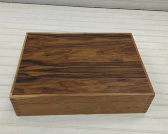 cherry and rosewood box