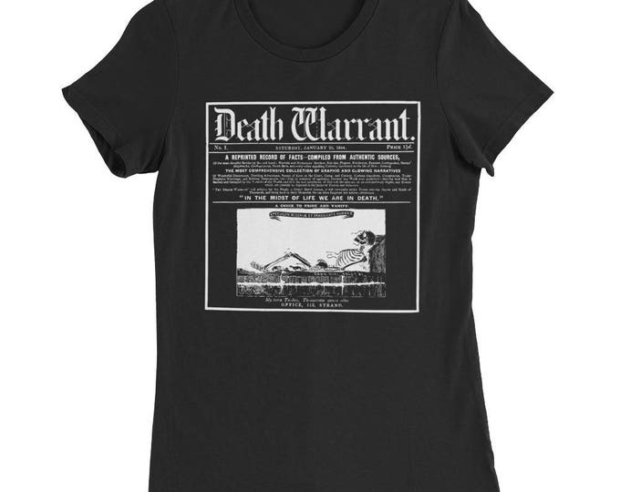 Death Warrant Femme Fit Tee
