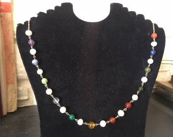 New Jerusalem Necklace with 12 Pearls.