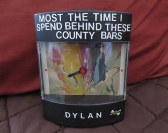 """Bob Dylan Dyl-Time Clock for """"Dylan"""" album"""
