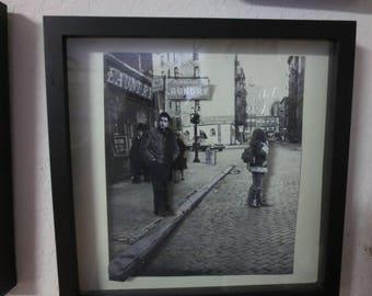 Bob Dylan 3D Art- On a Village Street