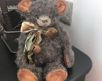 Teddy bear Gray