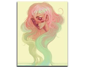 Vitality 8.5 x 11 Art Print