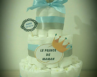 Great for boy diaper cake