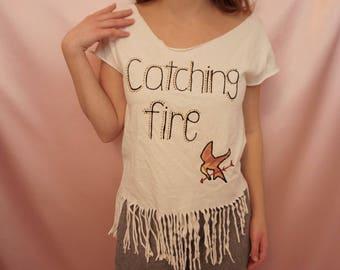Catching Fire Hunger Games T-Shirt