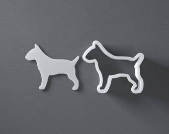 Bull Terrier dog cookie cutter, bullterrier, pet treat