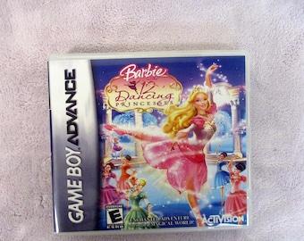 Barbie in 12 Dancing Princesses GBA/GameBoy Advance  Custom Case  (***No Game***)
