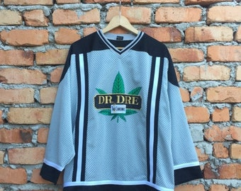 ON SALE 25% Vintage RARE ! Dr Dre The Chronic hiphop mesh jersey