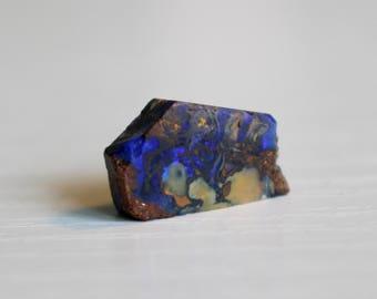 Australian Boulder Opal Rough Specimen 6ct