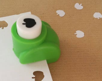 A hole punch pattern Apple scrapbooking