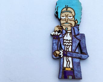 Scientist Formerly Known as Rick Pin