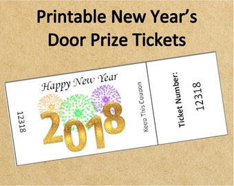 prize tickets